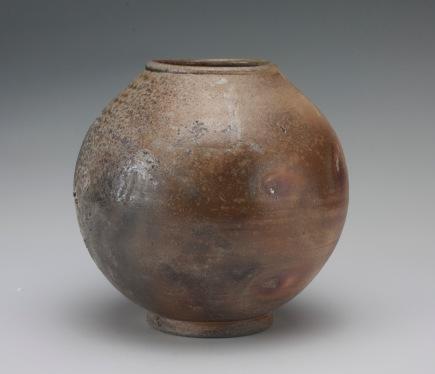 wood fired vase